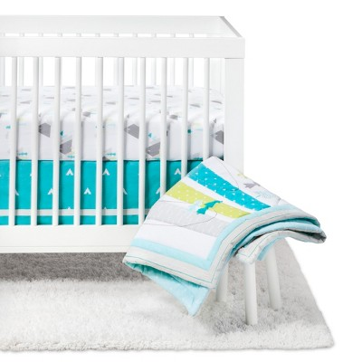 Crib Bedding Set Adventure Awaits 4pc - Cloud Island™ Blue