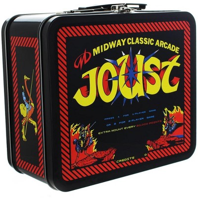 Crowded Coop, LLC Midway Classic Arcade Tin Lunch Box, Joust
