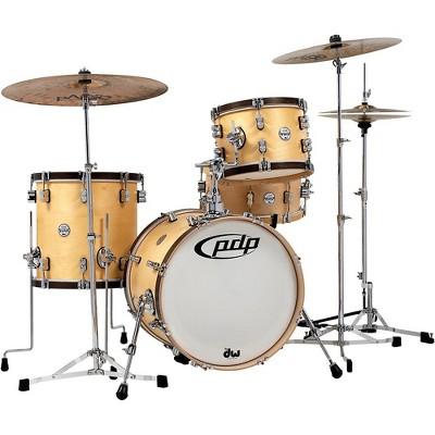 PDP by DW Concept Classic 3-Piece Bop Shell Pack Natural/Walnut