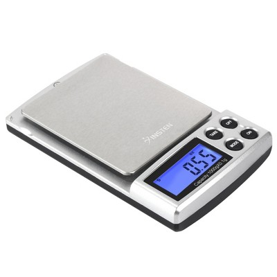 Insten Digital Pocket Scale in Grams & Ounces - Portable & Multifunction for Food, Jewelry - 0.1g Precise with 1000g (2lb) Capacity