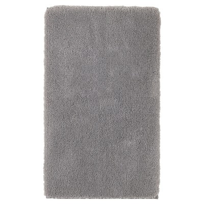 Luxury Solid Bath Rug (20 X34 )Skyline Gray - Fieldcrest®