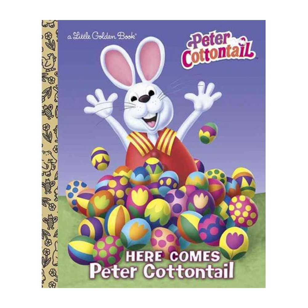Here Comes Peter Cottontail ( Little Golden Books) (Hardcover)
