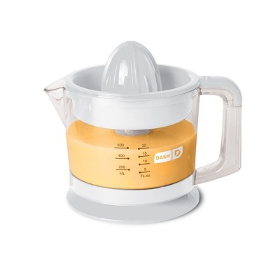 Dash Electric Dual Citrus Juicer - White