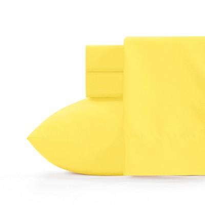 Twin Microfiber Sheet Set Laser Lemon - Crayola