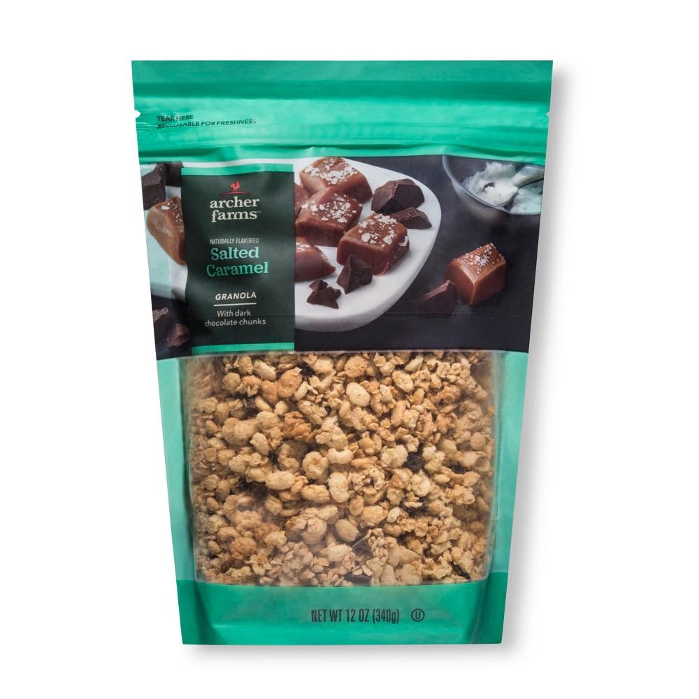 Sea Salt Caramel Granola with Dark Chocolate Chunks - 12oz - Archer Farms