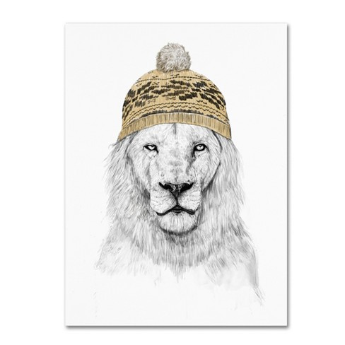 Trademark Global Balazs Solti 'Winter Is Coming' Unframed Wall Canvas Art - image 1 of 3