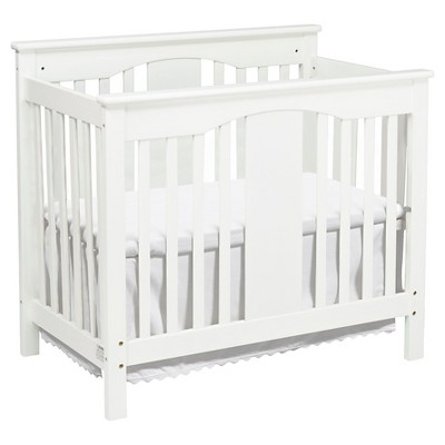 DaVinci Annabelle 2-in-1 Mini Crib and Twin Bed - White