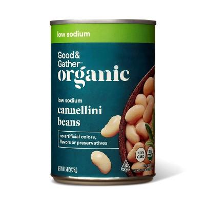 Organic Low Sodium Cannellini Beans - 15oz - Good & Gather™