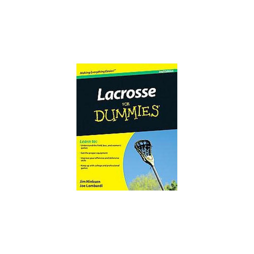 Lacrosse for Dummies (Paperback) (Jim Hinkson)