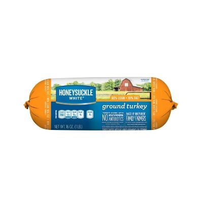 Honeysuckle White Fresh 90% Lean Ground Turkey - 1lb