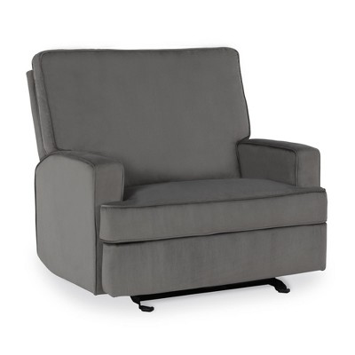 Baby Relax Addison Double Rocker Recliner Chair - Gray