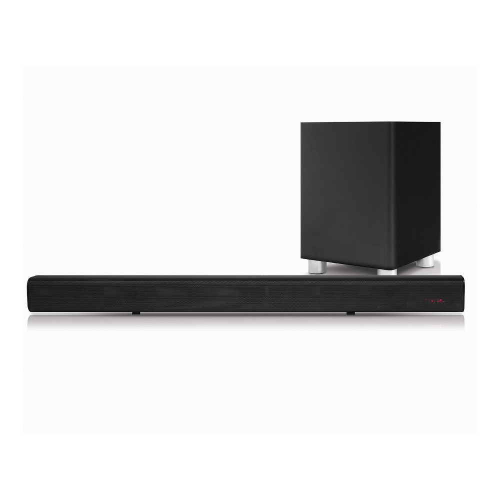 Pure Acoustics Sound Bar With Wireless Subwoofer - Black (SBW175B)