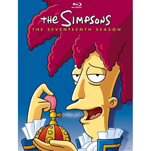The Simpsons: The Seventeenth Season (4 Discs) (Blu-ray) - image 1 of 1