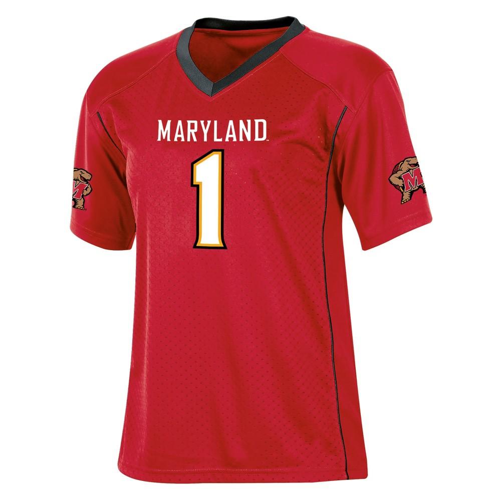 Maryland Terrapins Boys Short Sleeve Replica Jersey XL, Multicolored