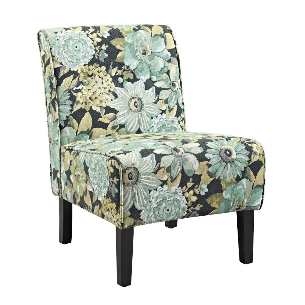 Coco Geranium Accent Chair - Linon, Multi-Colored