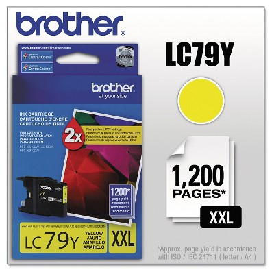 Brother Innobella Super High-Yield Single Ink Cartridge - Yellow (BRTLC79Y)