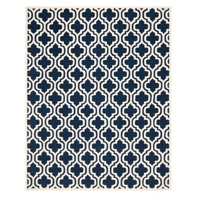 Margie Quatrefoil Design Tufted Area Rug - Safavieh