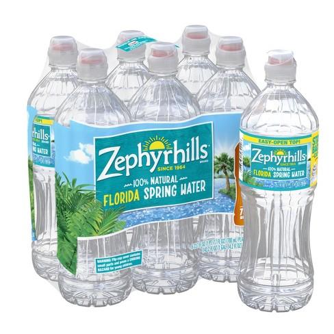 Zephyrhills Brand 100% Natural Spring Water - 6pk/23.7 fl oz Sport Cap Bottles - image 1 of 5