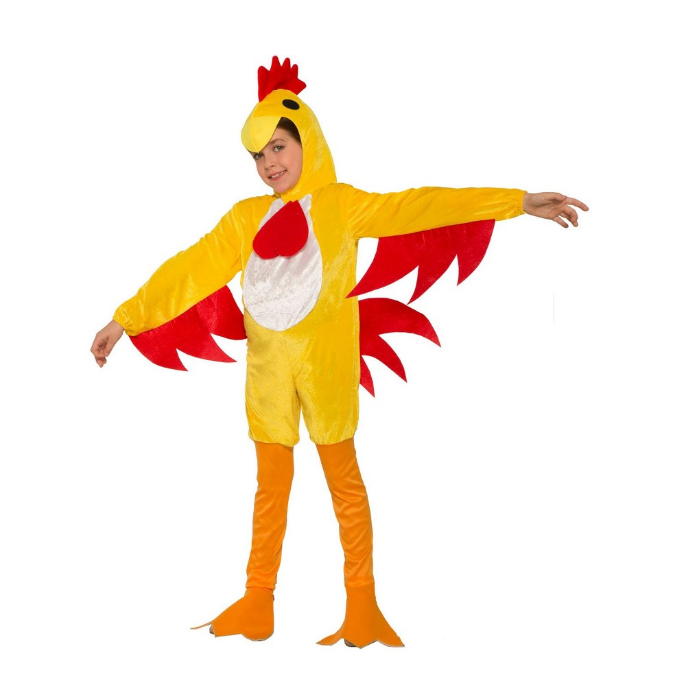 Kids' Clucky The Chicken Halloween Costume S, Kids Unisex, Multicolored