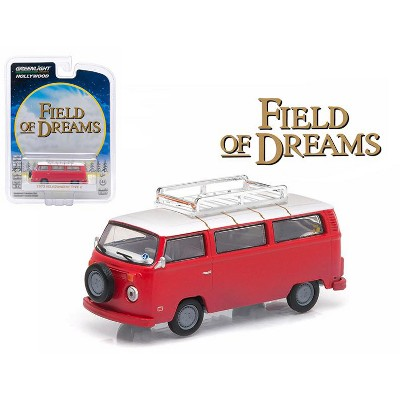 "1973 Volkswagen Type 2 (T2B) Bus ""Field of Dreams"" (1989) Movie Hollywood Series 9 1/64 Diecast Model by Greenlight"