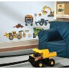New Speed Limit Construction Vehicles Peel and Stick Wall Decal - RoomMates - image 2 of 4