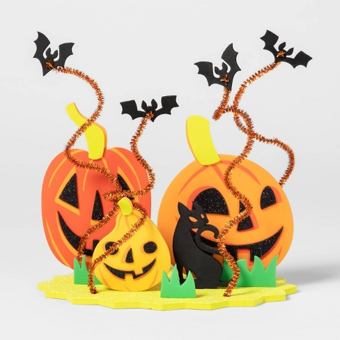 Pumpkin Patch 3D Halloween Craft Kit - Hyde & EEK! Boutique - Hyde and Eek! Boutique™ - image 1 of 2