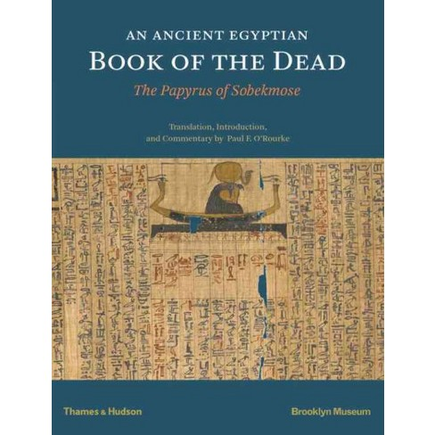 Ancient Egyptian Book Of The Dead Papyrus Sobekmose