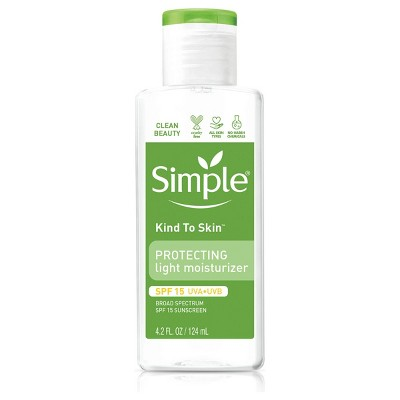 Simple Protecting Light Moisturizer with SPF 15 - 4.2 fl oz