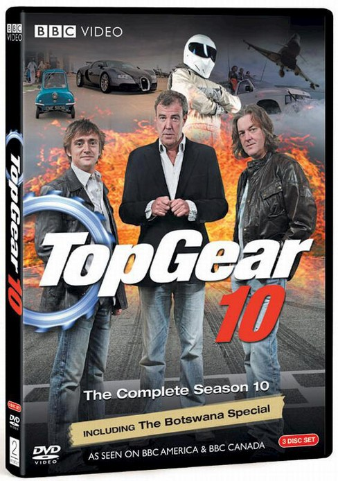 Top gear 10 (DVD) - image 1 of 1