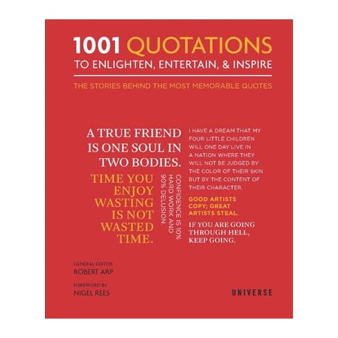 1001 Quotations To Enlighten Entertain Inspire The Stories