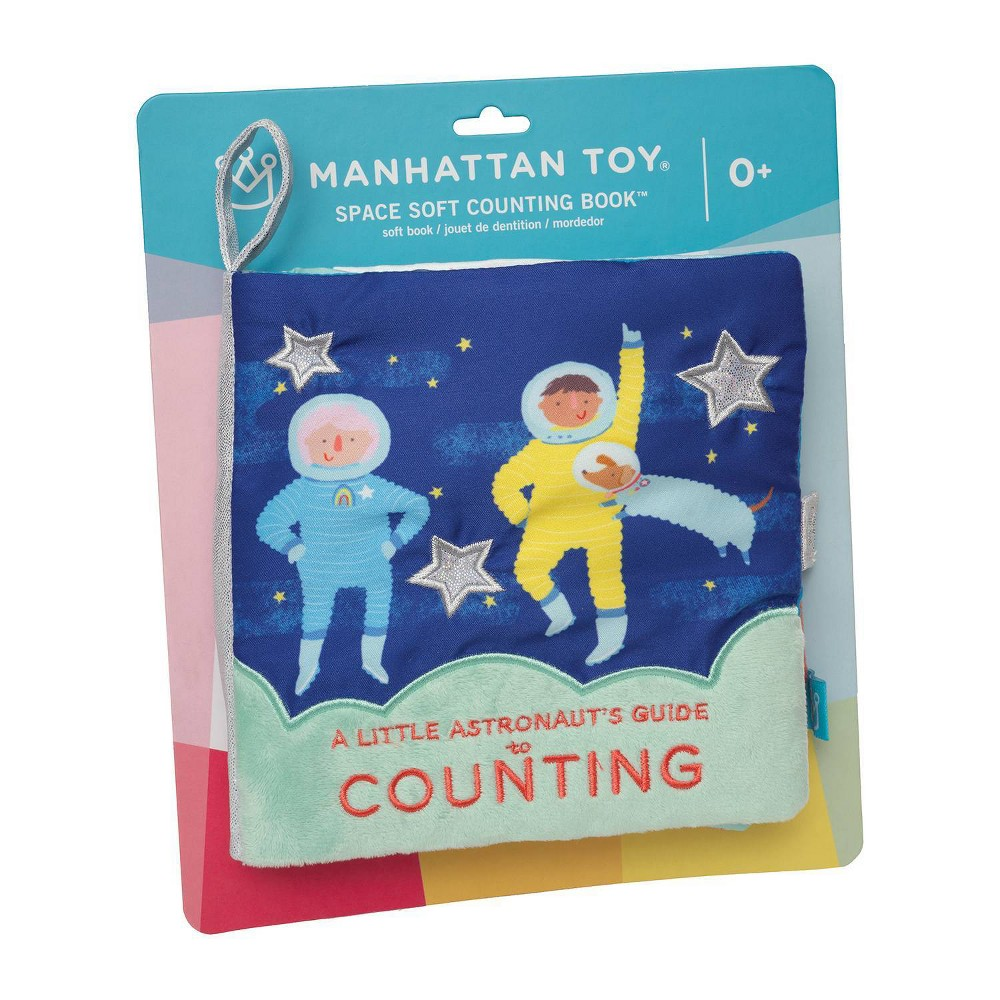Image of The Manhattan Toy Company Space Soft Counting Book