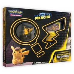 Pokemon Detective Pikachu Café Trading Card and Figure Box