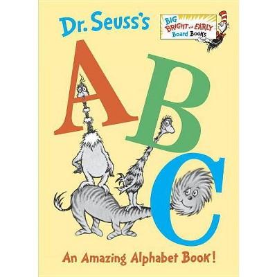 Dr. Seuss's ABC - (Big Bright & Early Board Books)(Board_book)