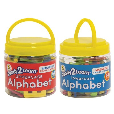 Learning Advantage Bilingual Magnets Foam Alphabet - Uppercase and Lowercase