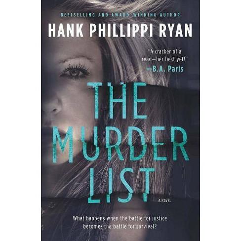 The Murder List - by  Hank Phillippi Ryan (Hardcover) - image 1 of 1