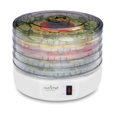 NEW Nutrichef PKFD12 Electric Countertop Food Jerky Dehydrator Preserver Maker