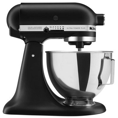 KitchenAid Ultra Power Plus 4.5qt Tilt-Head Stand Mixer - Matte Black KSM96