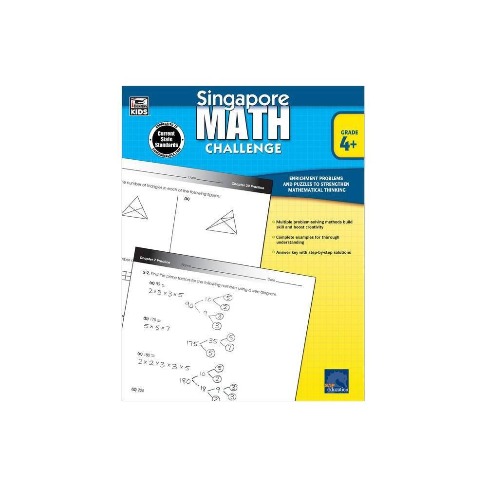 Singapore Math Challenge Grades 4 6 Paperback