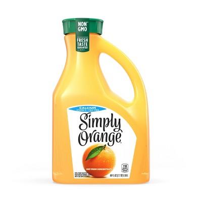 Simply Orange Pulp Free with Calcium and Vitamin D Juice - 89 fl oz