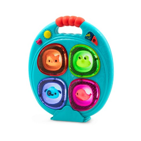 B toys Catch-a-Sound Musical Memory Game with Animals and Wacky Sounds - image 1 of 3