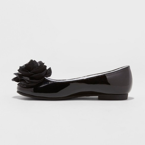 8ceb5831302 Girls  Flowers By Nina Tressie Heeled Ankle Strap Sandals - Black 13 ...