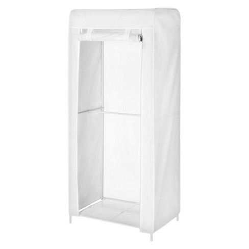 Metal Mesh Wardrobe with cover - White - Room Essentials™ - image 1 of 1