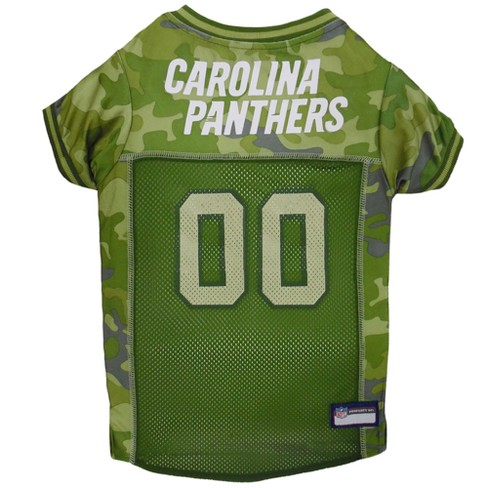NFL Pets First Camo Pet Football Jersey - Carolina Panthers. Shop all NFL 0974077fe