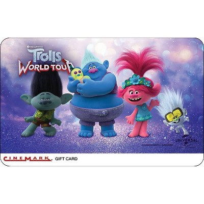 Cinemark Theatres Gift Card $25 (Email Delivery)