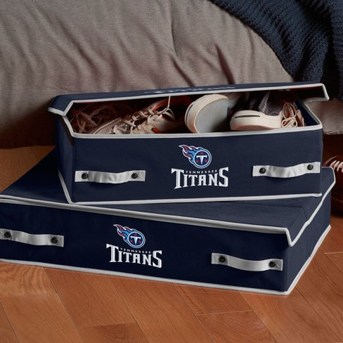 6fd3da2a0 NFL Franklin Sports Tennessee Titans Under The Bed Storage Bins