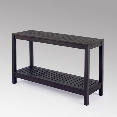 Alfresco Wood Patio Console Table - Cambridge Casual