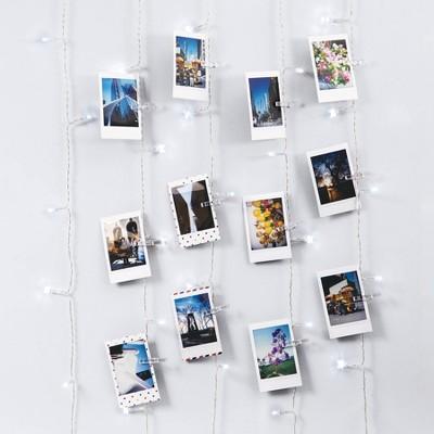 Merkury Photo Clip Curtain LED Lights - Cool White