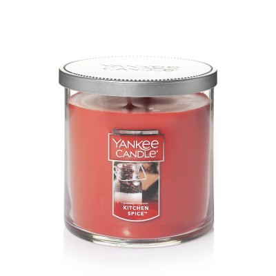 12.5oz Lidded Glass Jar 2-Wick Kitchen Spice Candle - Yankee Candle