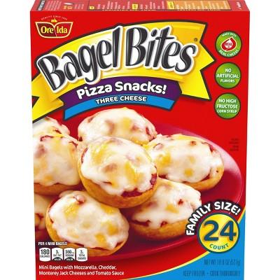Bagel Bites Frozen Three Cheese Pizza - 18.6oz/24ct