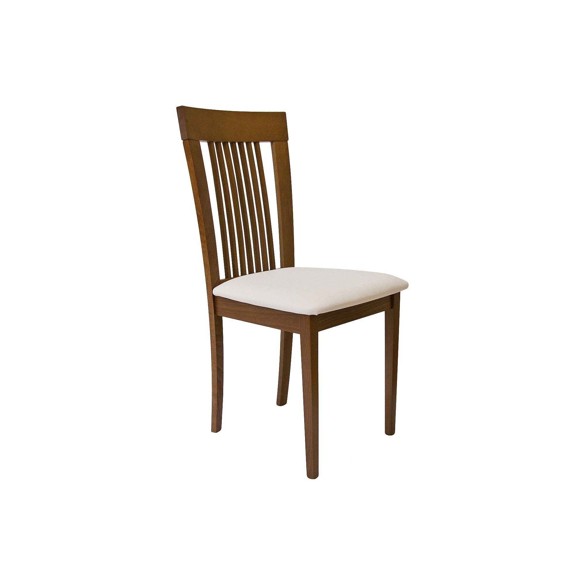 Aeon Hartford Solid Beechwood Dining Chair - Walnut (Brown) (Set of 2)